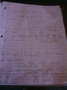 Outline Draft