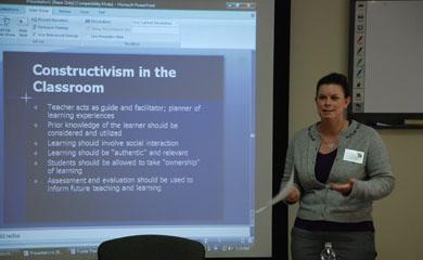 Kim Davies Hoffman bringing theory into practice