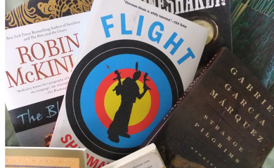 Fiction paperback books to share